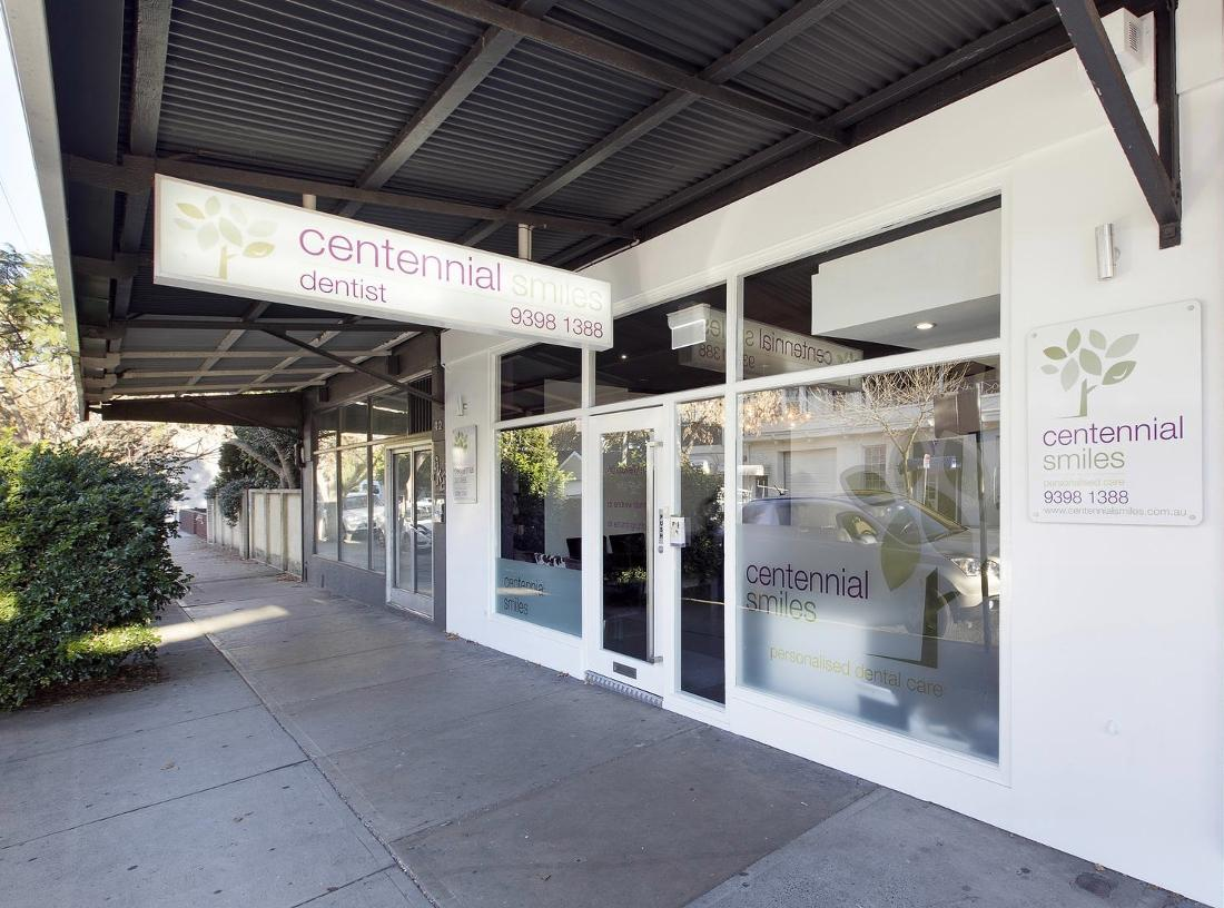 Exterior of Centennial Smiles in Randwick